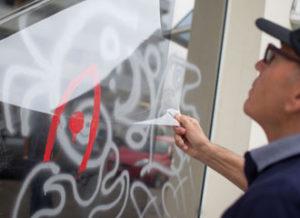 Anti-Graffitifolie
