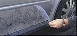 Steinschlagschutzfolie für Autotüren